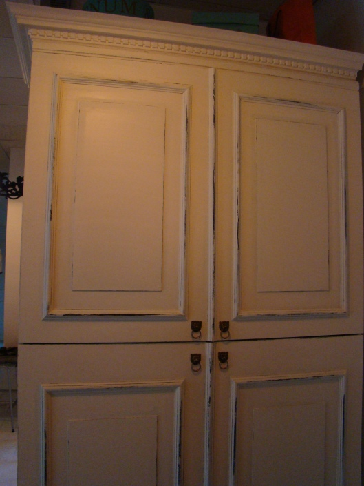 Tall Shabby Chic IKEA Cupboard 003