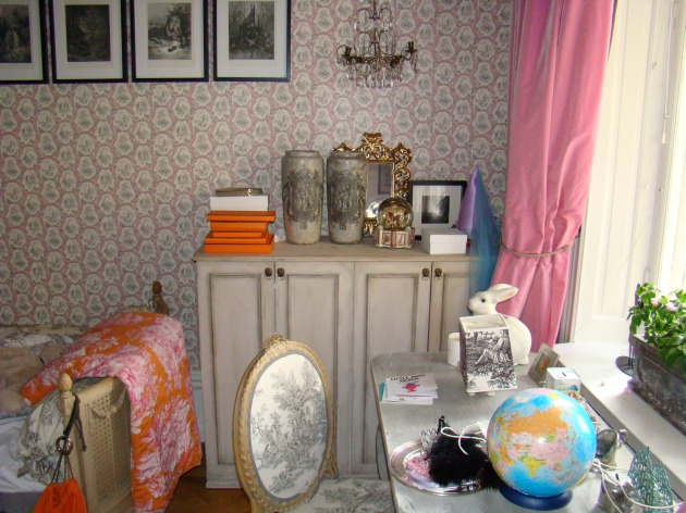 Shabby Child's Cupboard - IKEA Hack